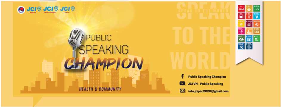 Public Speaking Champion 2020
